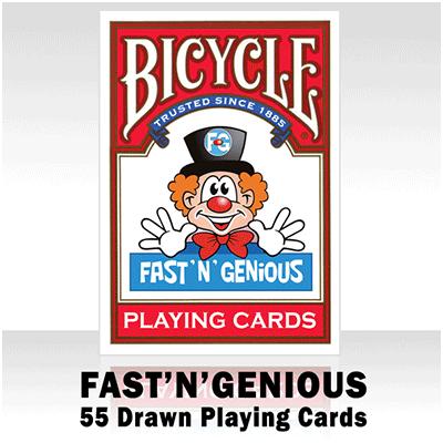 Bicycle Fast 'n' genious kaarten