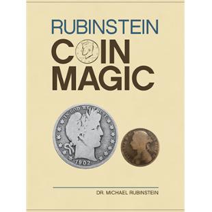 Rubinstein Coin Magic boek (Hardbound) by Dr. Michael Rubinstein