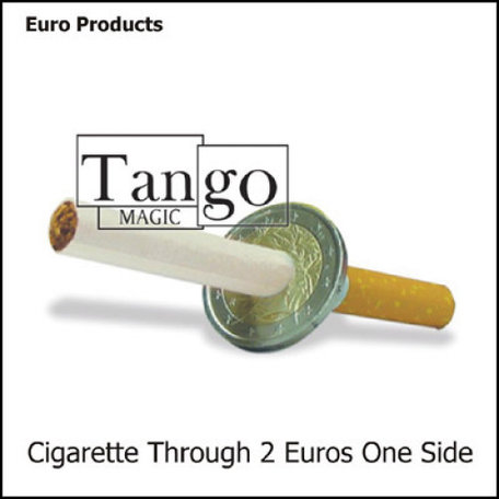 Cigarette Through 2 sided Euro