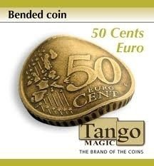 Bended coin, 50 eurocent