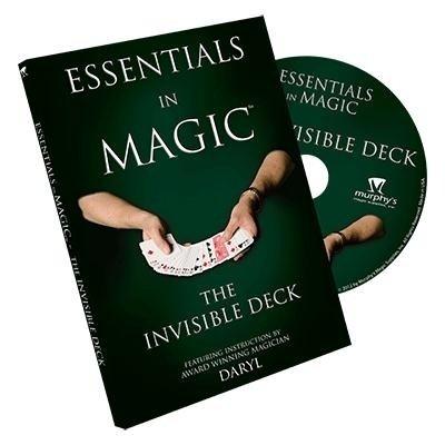 Essentials in Magic Invisible Deck - DVD