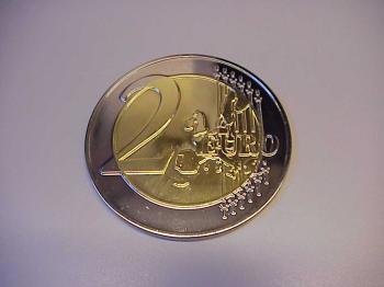 2 Euro munt jumbo