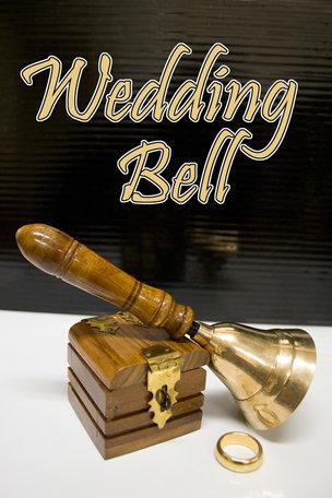 Wedding bell - ring box