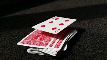 Suspended (Floating) card - Zwevende kaart