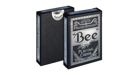Bee Silver Stinger Speelkaarten by USPCC