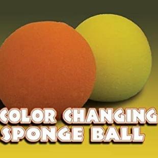 Verkleurende sponsbal (set van 2)
