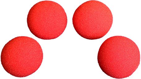 Sponsballen SS 1,5 inch rood