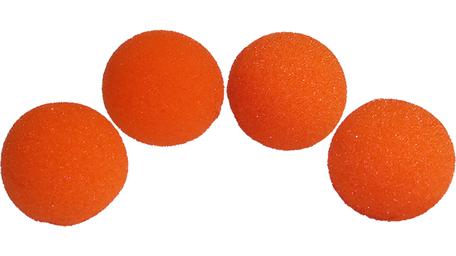 Sponsballen SS 1,5 inch oranje