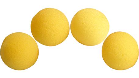 Sponsballen SS 1,5 inch geel