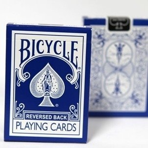 Bicycle reversed back blue 2e generatie