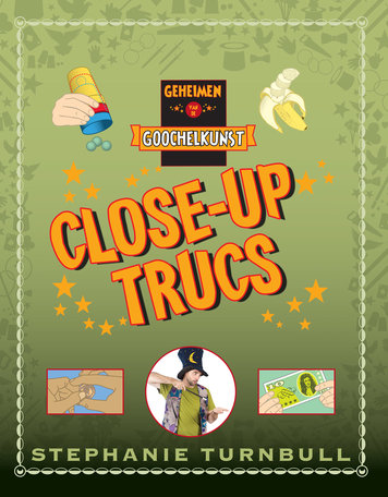 Close-up trucs boek