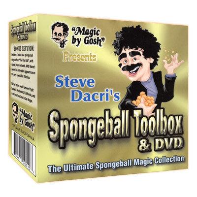 Spongeball Toolbox met DVD