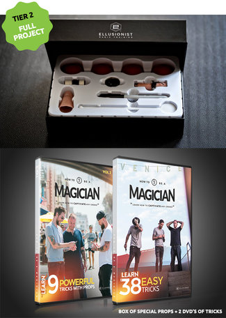 How to be a magician KIT