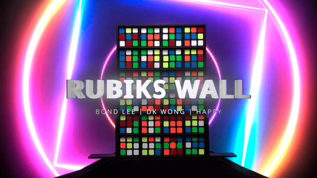 Rubik's Wall COMPLETE by Bond Lee & MS Magic