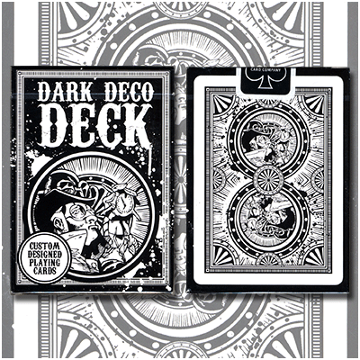 Dark Deco Deck by US Playing Card