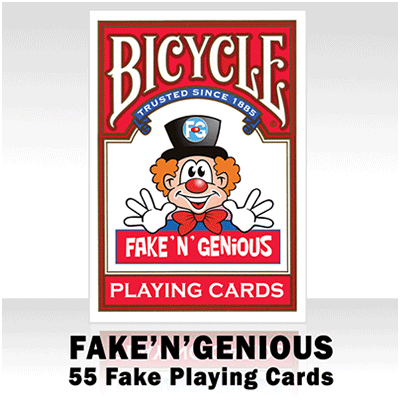 Bicycle Fake 'n' genious kaarten