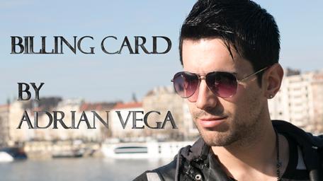 Billing Card by Adrian Vega