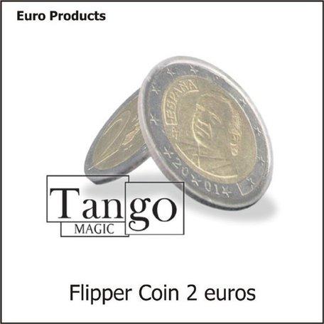 Flippercoin magnetisch 2 euro
