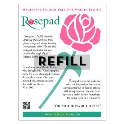 Rose pad REFILL - Martin Lewis