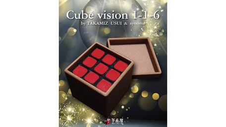 Cube Vision 1-1-6 by Takamiz Usui and Syouma