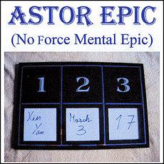 Astor mental Epic