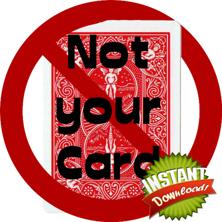 Not your card - instant download