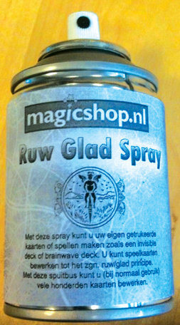 Ruw glad spray
