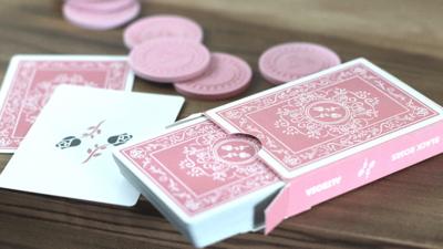 Black Roses Altrosa Speelkaarten