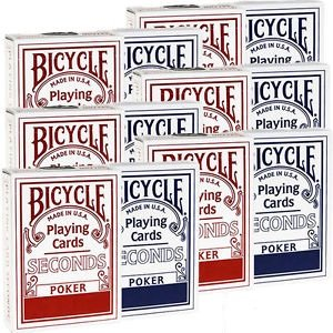 Bicycle seconds box of 12