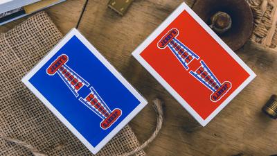 Vintage Feel Jerry's Nuggets (Blue) Speelkaarten