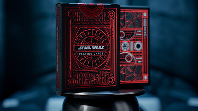 Star Wars Dark Side (RED) Playing Cards by theory11