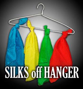 Silks off hanger