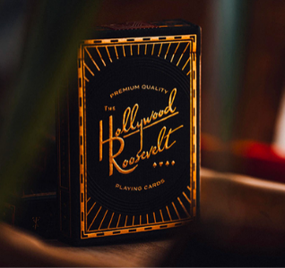 The Hollywood Roosevelt Playing Cards by theory11