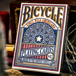Kings Wild Bicycle Americana Playing Cards by Jackson Robinson