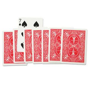 8 kaarten toeval goocheltruc