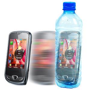 Telefoon in fles