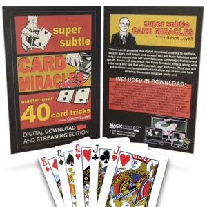 Super Subtle card Miracles