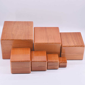 Nest of wooden boxes (7)