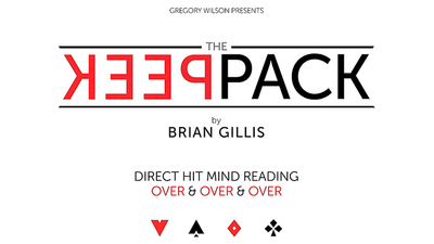 The Peek Pack by Brian Gillis