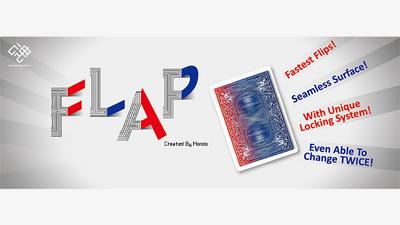 Modern flap card diverse modellen - Hondo