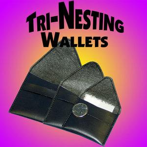 TRI nesting wallets