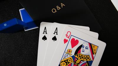 Q & A Jumbo Three Card Monte