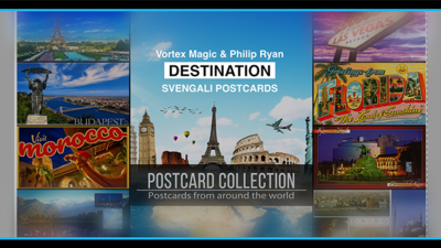DESTINATION by Philip Ryan (Svengali Postcards)