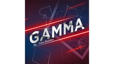 Gamma blauw by Felix Bodden and Agus Tjiu