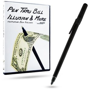 Pen thru bill illusion
