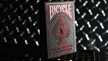 Bicycle Rider Back Crimson Luxe (Red) Version 2