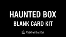 Blank Card Kit for Haunted Box by João Miranda