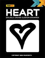 Double cross heart stamper
